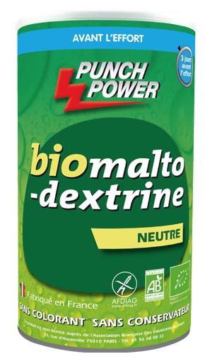 biOmaltodextrine - Neutre SANS GLUTEN (Pot 500g)