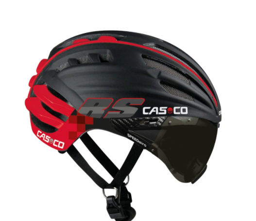 CASCO SPEEDAIRO RS casque NOIR:ROUGE