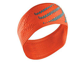 COMPRESSPORT HEAD BAND ORANGE